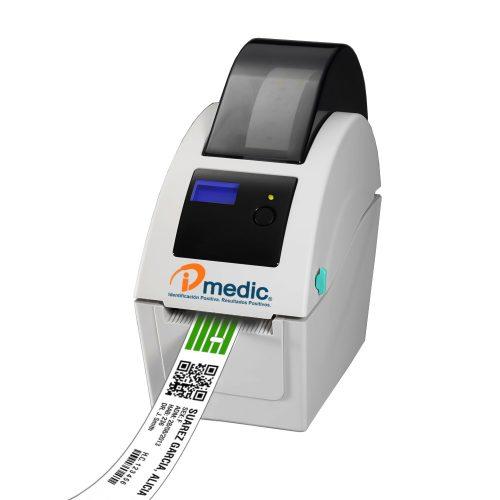 Impresora térmica para brazaletes IDmedic